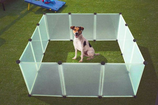 how to keep dog playpen from moving